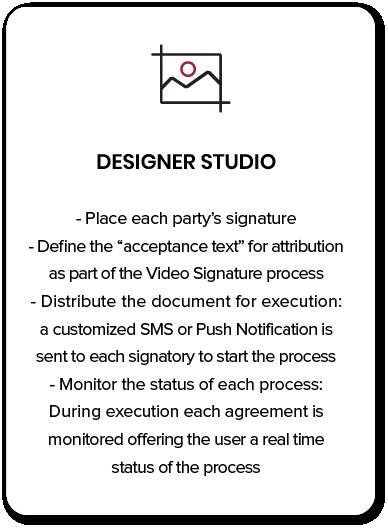 Designer studio Biometric Agreement